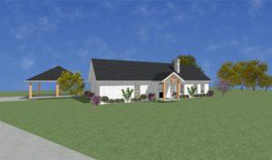 A&D Farm Modular Home Rendering