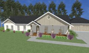 Alexander Modular Home Rendering