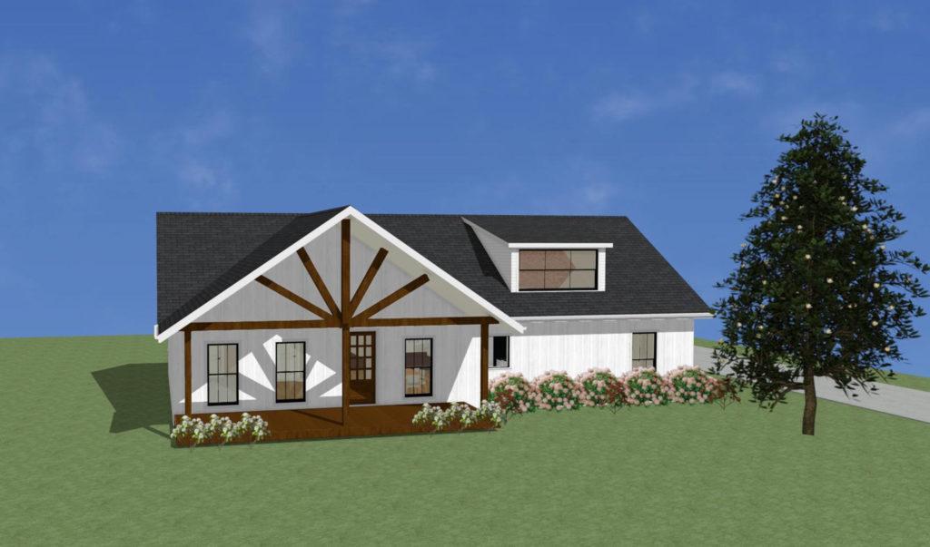 Allie Modular Home Rendering
