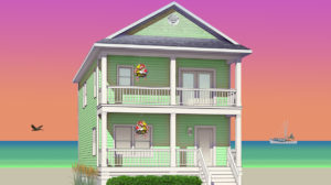 The Mako 2 Story Modular Home Plan