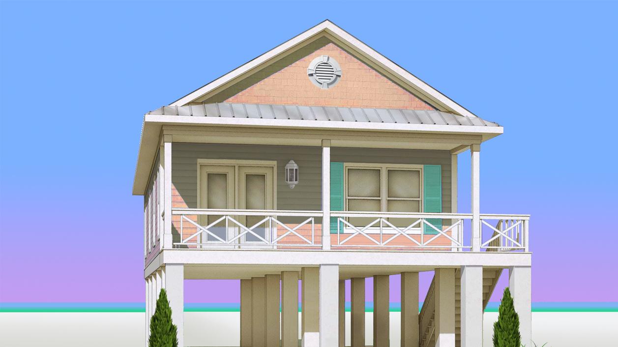Pelican Beach Modular Home Rendering