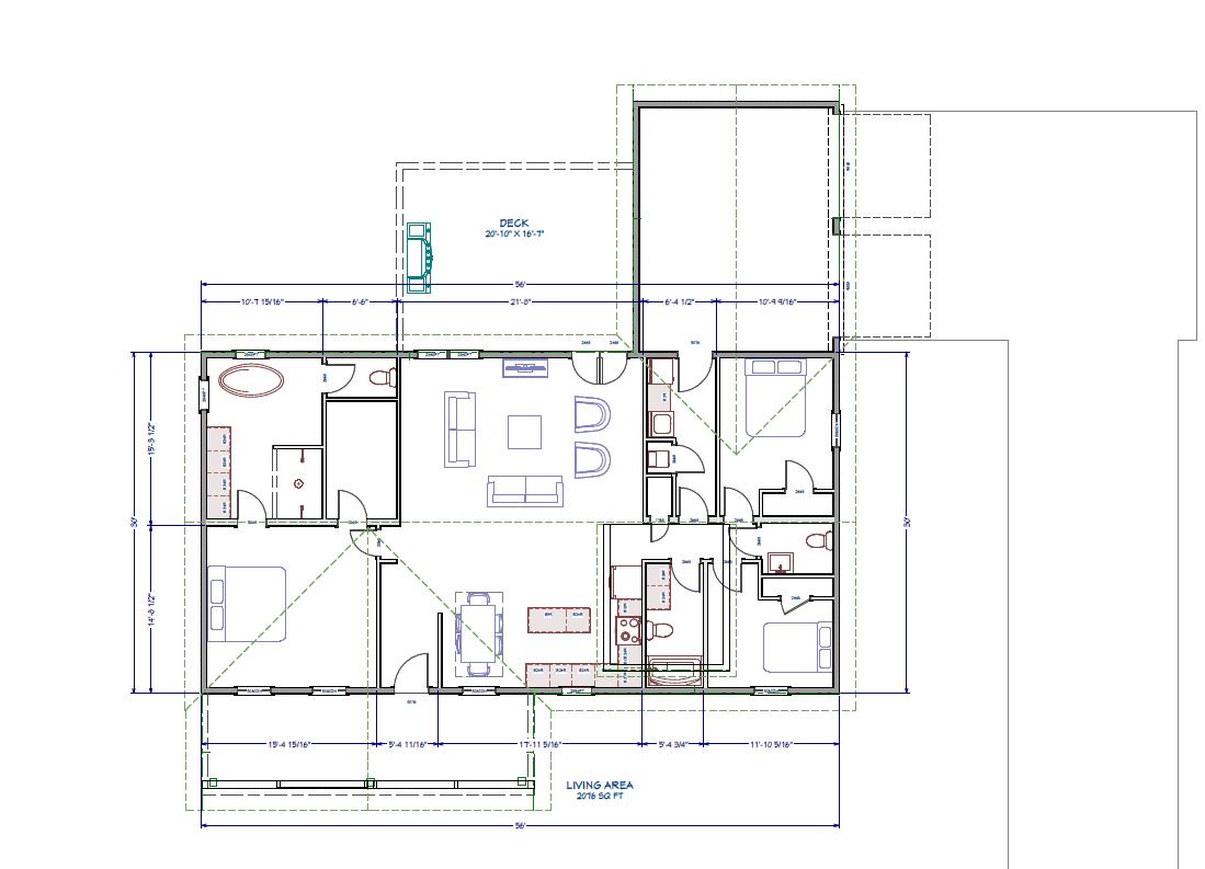 The Allie Modular Home Floor Plan
