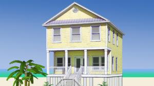 Tybee Island Modular Home Rendering